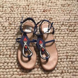 DV Dolce Vita embellished flat sandals barely worn